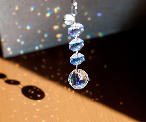 crystal, light, and beautiful image