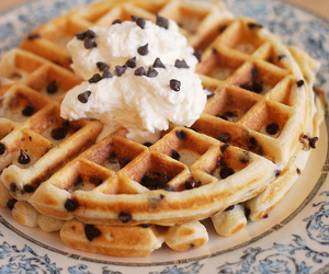 waffles and food image