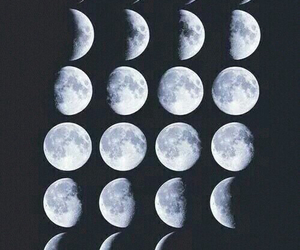 moon, wallpaper, and white image