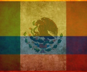 colombia, mexico, and photo blend image