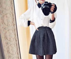 camera, fashion, and kfashion image