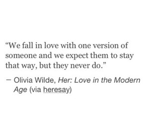 love, fall, and quote image