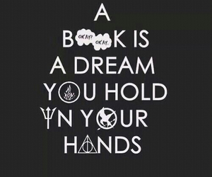 books, hunger games, and harry potter image