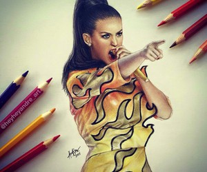 katy perry, art, and beautiful image