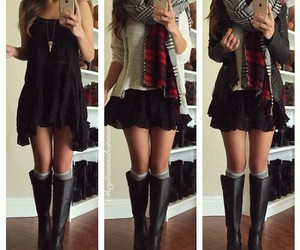 black, tumblr, and clothes image