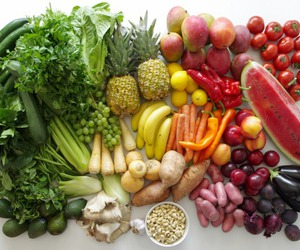 fruit, food, and vegetables image