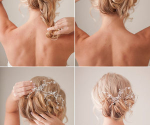 clips, hairstyle, and diy image