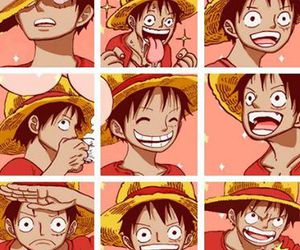 luffy and anime image