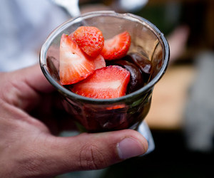 strawberry and yummy image