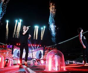 fireworks, Sydney, and one direction image