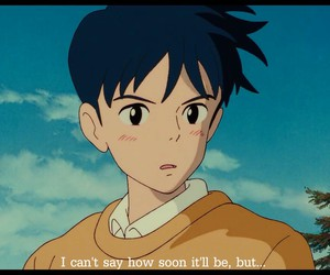 ghibli, heart, and of image