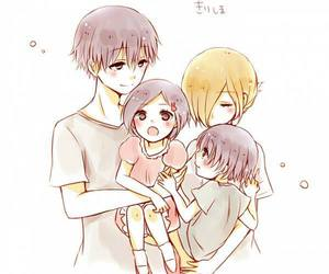 anime, tokyo ghoul, and family image