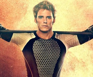 finnick, the hunger games, and catching fire image