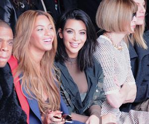 fashion, kim kardashian, and beyoncé image