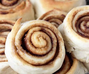 bread, food, and rolls image