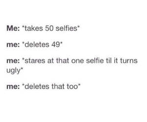 funny, selfie, and me image