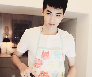 actor, yifan, and exo image