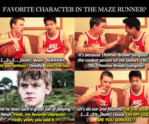 Minho, the maze runner, and chuck image
