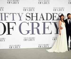 fifty shades of grey, dakota johnson, and Jamie Dornan image