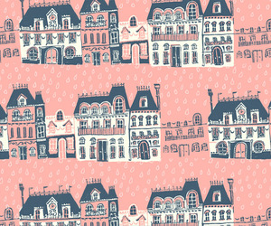 pink, house, and cute image