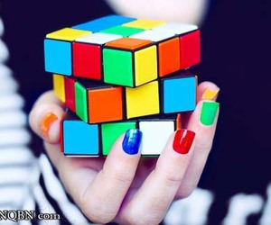 nails, colors, and cube image
