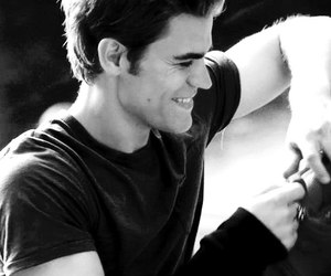 the vampire diaries, paul wesley, and stefan salvatore image