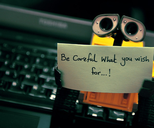 cute, quote, and wall-e image