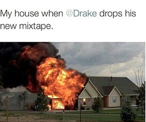 Drake, lol, and mixtape image