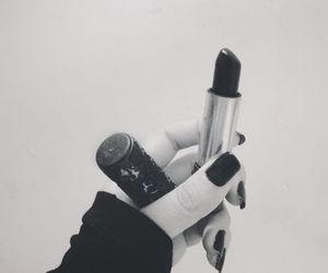 black, goth, and grunge image