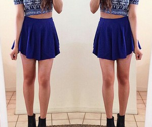 blue, summer, and fashion image