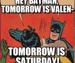 batman, funny, and saturday image