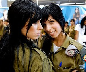 army, girls, and Isreal image