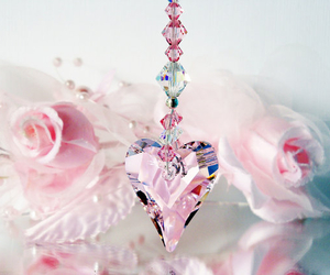 crystal, gift, and pastel image