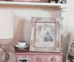decor, girlie, and pink image