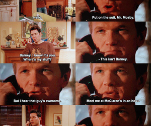 Barney Stinson, friends, and himym image