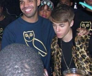 justin bieber, Drake, and justinbieber image