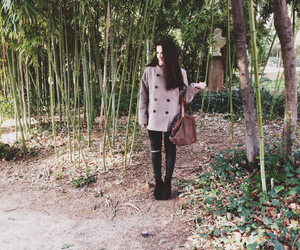forest, handbag, and tumblr image