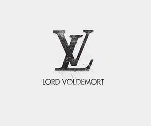 harry potter, lord voldemort, and Louis Vuitton image