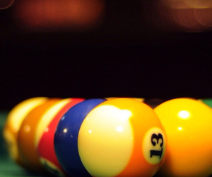 balls, billiards, and cool image