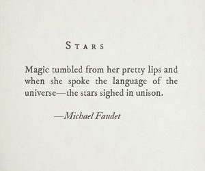 magic, quote, and stars image