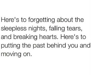 broken hearts, past, and quotes image