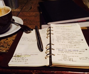 busy, coffee, and organized image