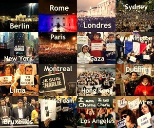 everywhere, france, and jesuischarlie image
