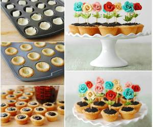 candy, food, and cupcake image