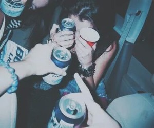 party, grunge, and friends image