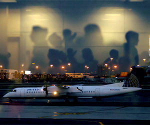 plane, photography, and travel image
