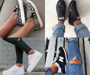 converse, nike, and shoes image