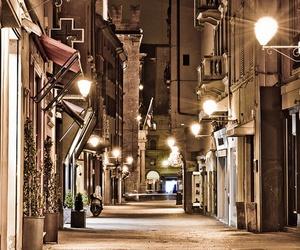 city, light, and bologna image