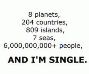 single, people, and text image