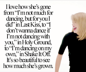 Taylor Swift, last kiss, and shake it off image